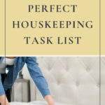 Perfect Housekeeping Task List
